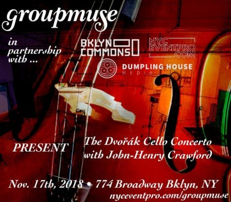 Groupmuse x NYCEVENTPRO – November 17th, 2018