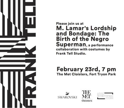Frank Tell x M. Lamar @ The Met Cloisters – February 23rd, 2019
