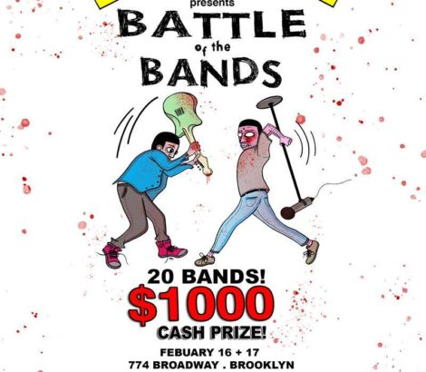 BATTLE OF THE BANDS x Bklyn Commons – February 16th & 17th, 2019