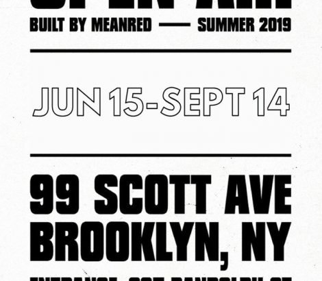 OPEN AIR – MeanRed x 99 Scott – Summer 2019