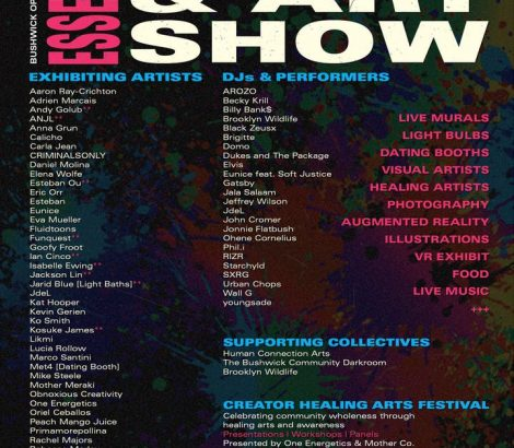 Bushwick Essential Music & Art Show – Sept. 20-22nd, 2019