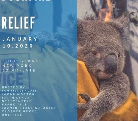 Bushfire Relief Fundraiser – Jan 10th, 2020