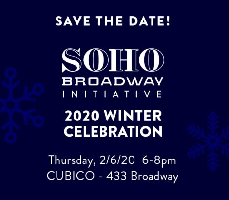 SoHo Broadway Initiative Winter Warm-Up – Feb 6, 2020